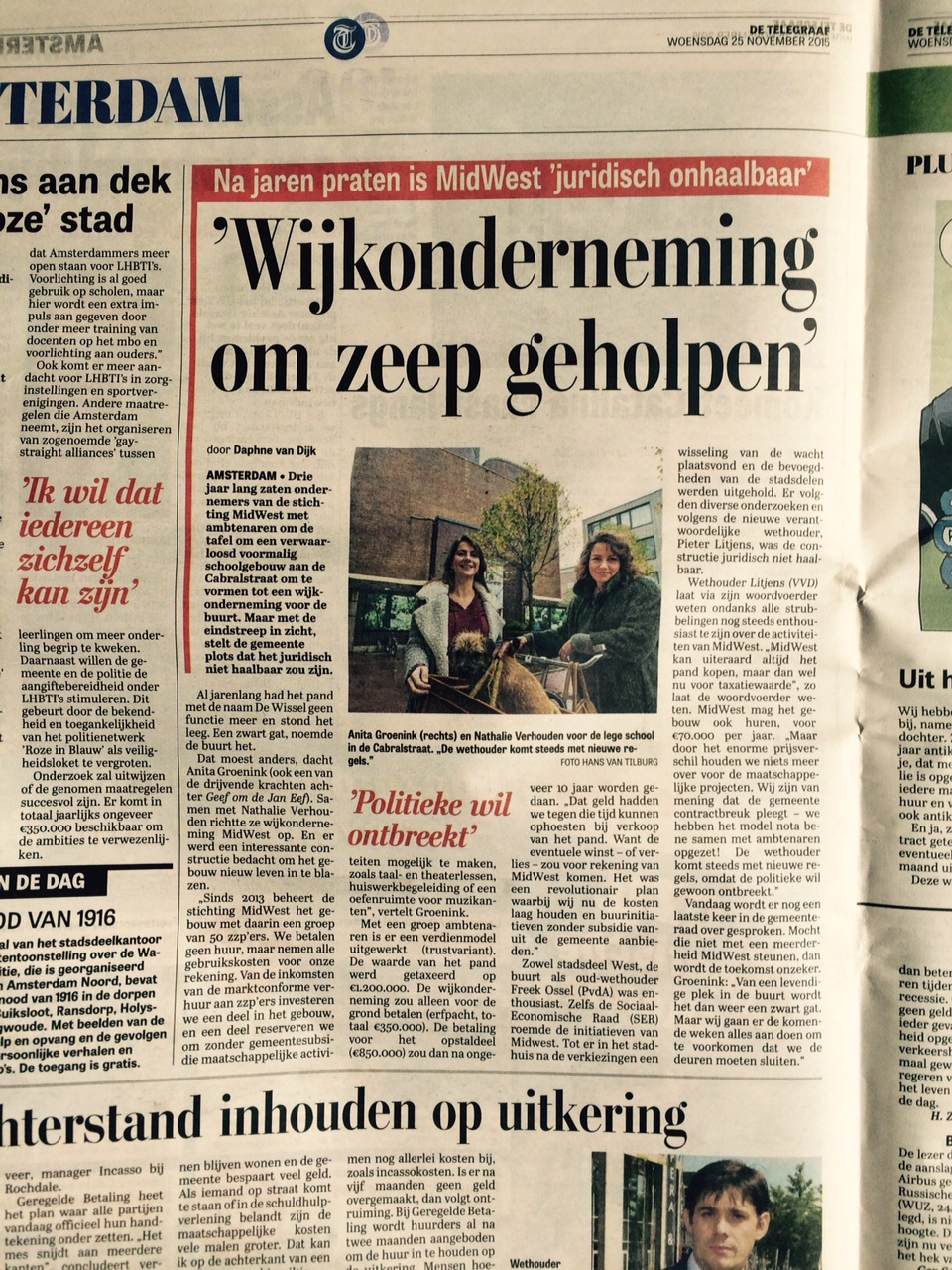 midwest in telegraaf  nov 2015